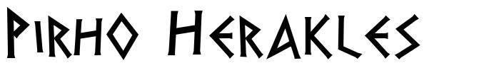 Pirho Herakles font
