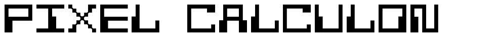 Pixel Calculon