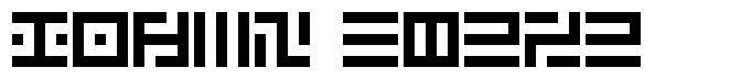 Pixel Chozo font