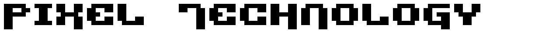 Pixel Technology font