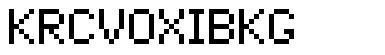 PixelCrypt font