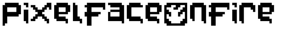 PixelFaceOnFire