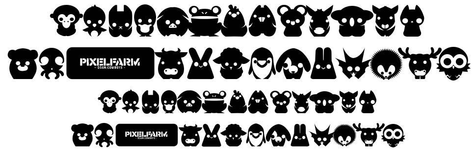 Pixelfarms Pets шрифт