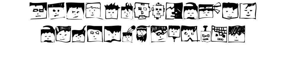 Pixelhead Handemadebeta font