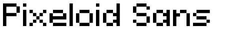 Pixeloid Sans