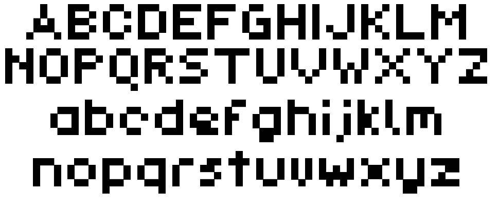 Pixl_Demo-Regular font