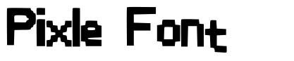 Pixle Font