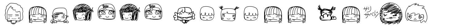 Pixopop Kawaii Girls font