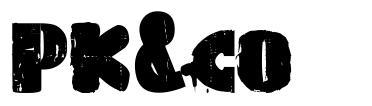 PK&co font