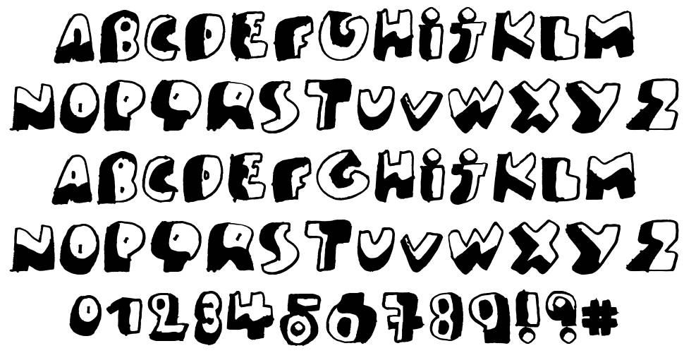 PK Like Guston font