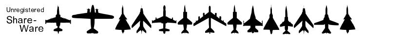 Planes-T-Modern font