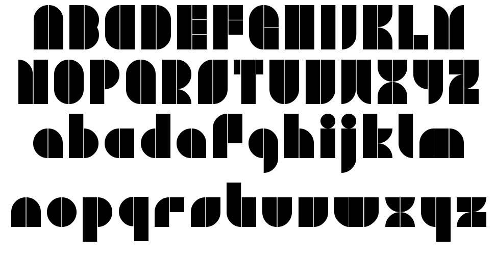 Plaster Caster font