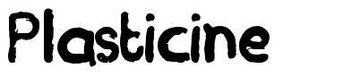 Plasticine font