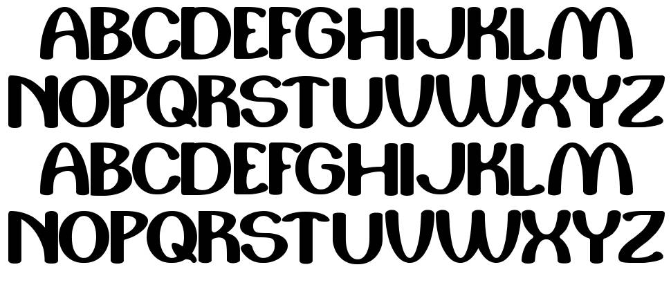 Play the game font