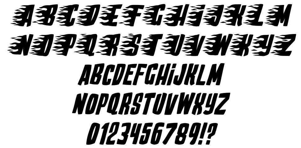 Play With Fire font