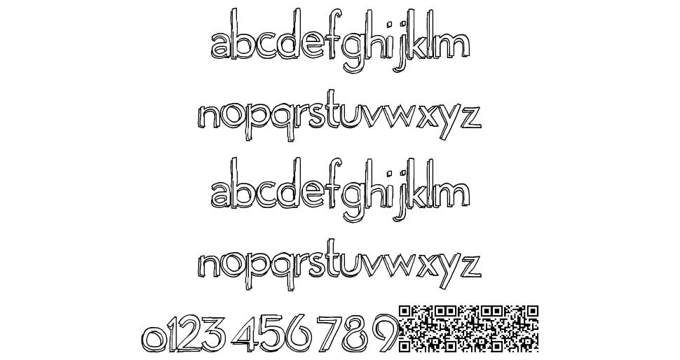 Playgrounds font
