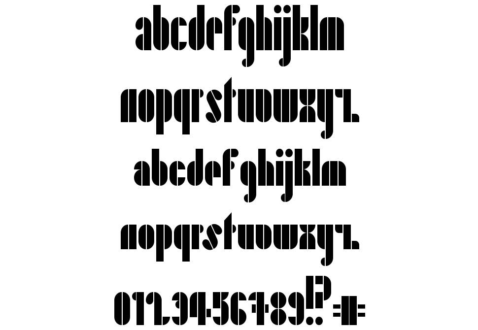 Playing in the Mood font