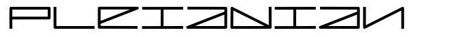 Pleiadian font