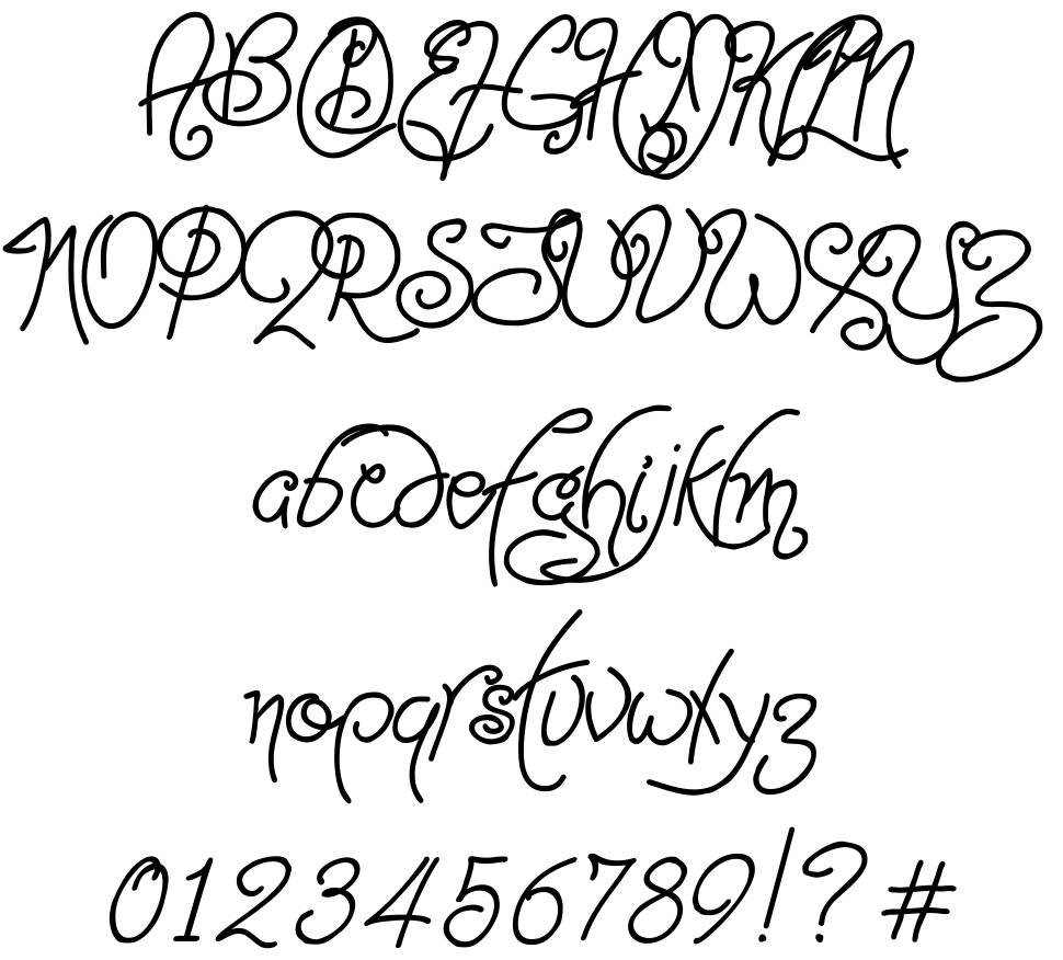 Point-Dexter font
