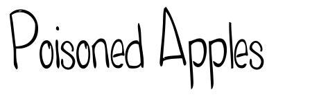 Poisoned Apples font