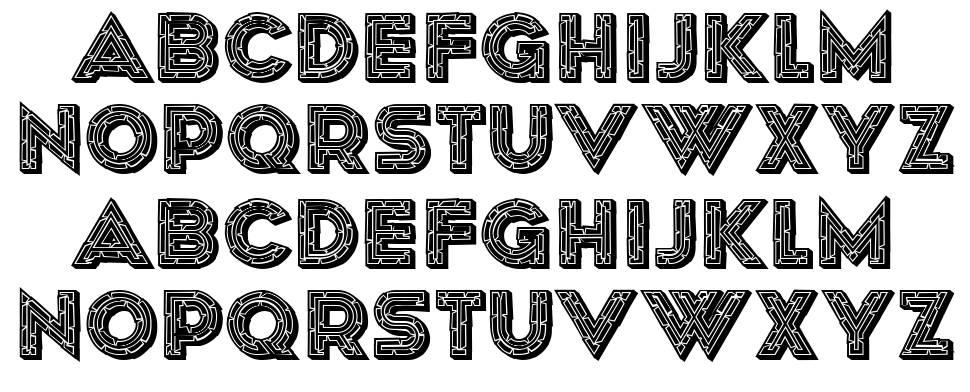Poitrine font