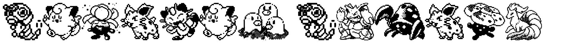 Pokemon Pixels