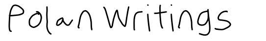 Polan Writings