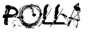 Polla フォント
