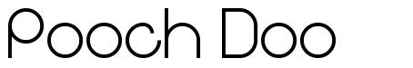 Pooch Doo шрифт