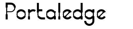 Portaledge písmo