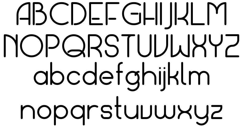 Portaly font