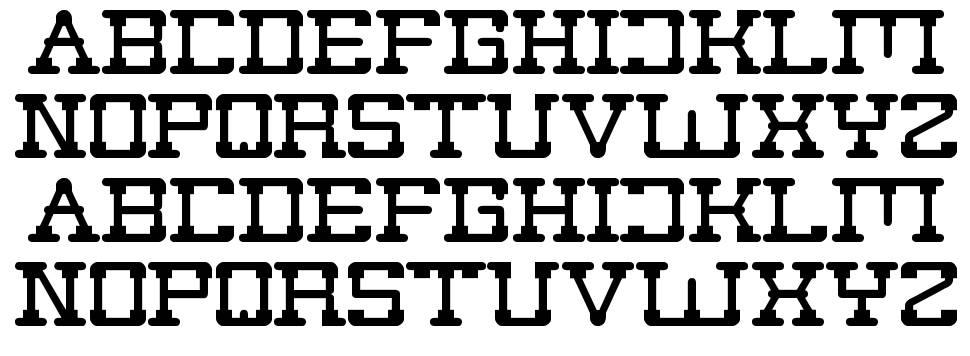 Post Rock font