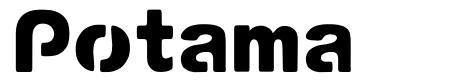 Potama font