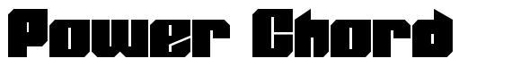Power Chord font