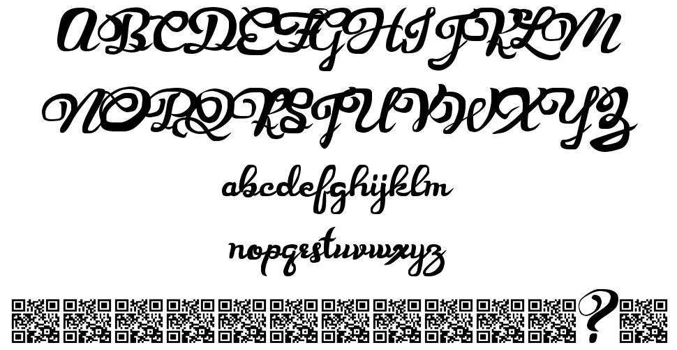Prescribe font