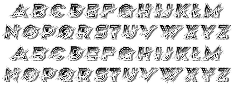 Pressing font