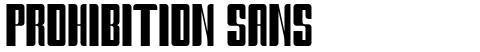 Prohibition Sans