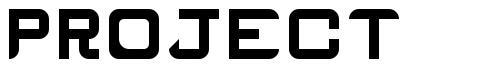 Project font