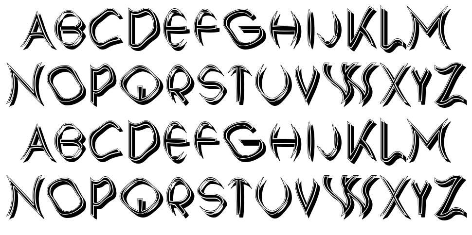 Protagonist font