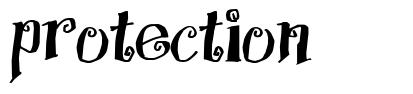 Protection font