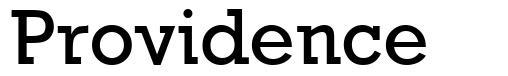 Providence font