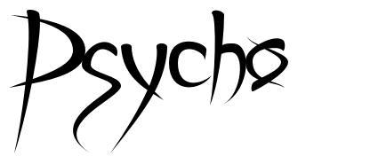 Psycho フォント