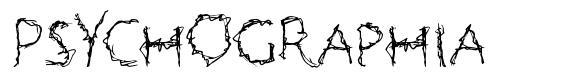 Psychographia font