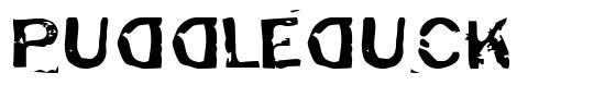 Puddleduck font