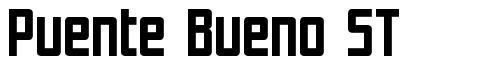 Puente Bueno ST font