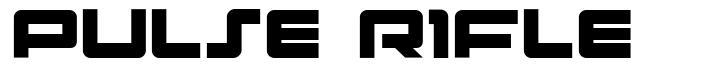 Pulse Rifle font