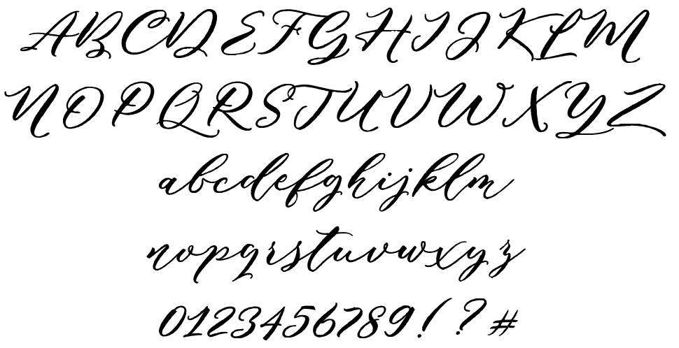 Puniko Rough font