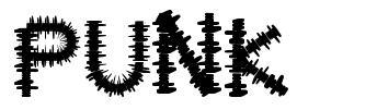 Punk 字形