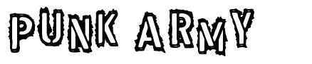 Punk Army font