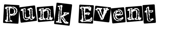 Punk Event font